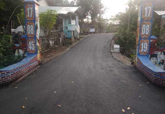 Pembangunan Desa Surokonto Wetan - Dana Desa Tahun 2020 Tahap 1
